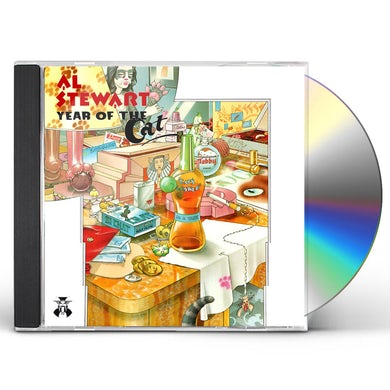 Al Stewart YEAR OF THE CAT & MODERN TIMES CD