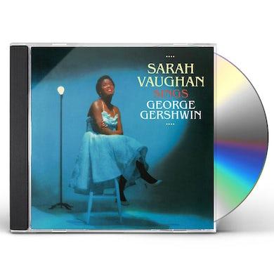 Sarah Vaughan SINGS GEORGE GERSHWIN CD