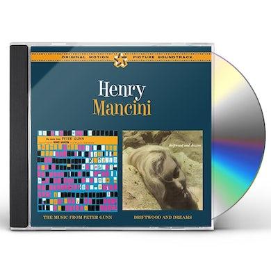 Henry Mancini MUSIC FROM PETER GUNN + DRIFTWOOD & DREAMS CD