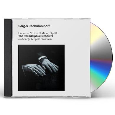Sergei Rachmaninoff CONCERTO NO2 IN C MINOR OP.18 CD