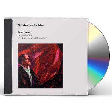 Sviatoslav Richter BEETHOVEN APPASIONATA & FUNERAL MARCH SONATAS CD