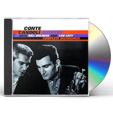 Conte Candoli COMPLETE RECORDINGS CD