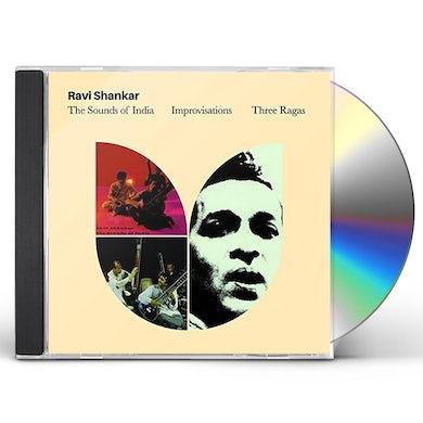 Ravi Shankar SOUNDS OF INDIA + IMPROVISATIONS CD
