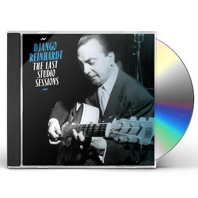 Django Reinhardt LAST STUDIO SESSIONS CD