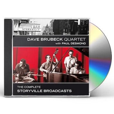 Dave Brubeck COMPLETE STORYVILLE BROADCASTS CD