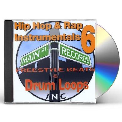 Var HIP HOP & RAP INSTRUMENTALS 6 CD