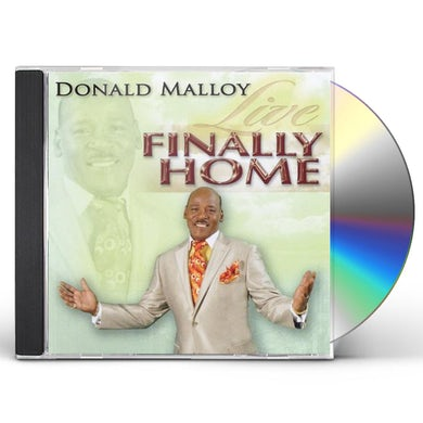 Donald Malloy FINALLY HOME LIVE CD