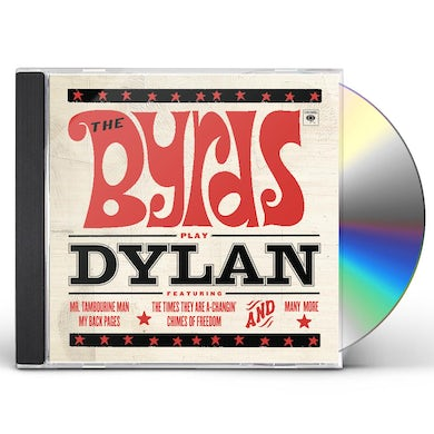 The Byrds PLAY DYLAN CD