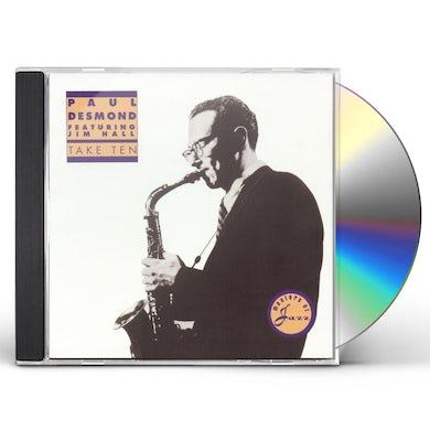 Paul Desmond TAKE TEN CD