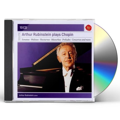 Arthur Rubinstein RUBINSTEIN PLAYS CHOPIN CD
