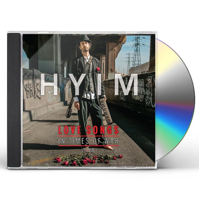 Hyim LOVE SONGS IN TIMES OF WAR 1 CD