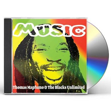 Thomas Mapfumo & The Blacks Unlimited MUSIC CD
