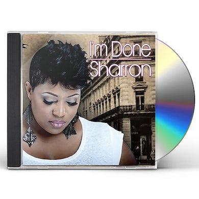 Sharron I'M DONE CD