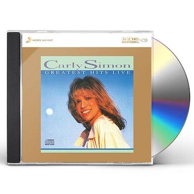Carly Simon GREATEST HITS LIVE: K2HD MASTERING CD