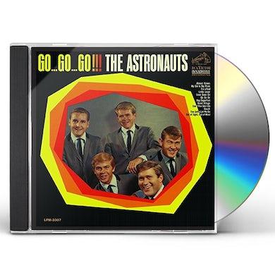 The Astronauts GO...GO...GO!! CD