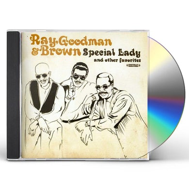 Ray Goodman & Brown SPECIAL LADY & OTHER FAVORITES CD