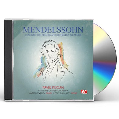 Felix Mendelssohn MENDELSSOHN: CONCERTO FOR 2 PIANOS & ORCHESTRA IN CD