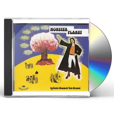 Steve Maxwell Von Braund MONSTER PLANET CD