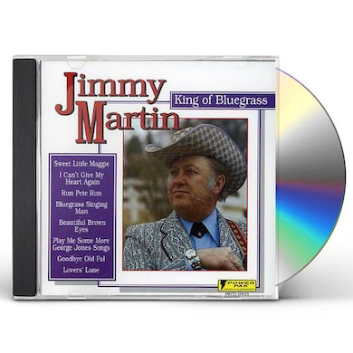 Jimmy Martin KING OF BLUEGRASS CD