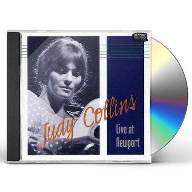 Judy Collins LIVE AT NEWPORT 1959-66 CD