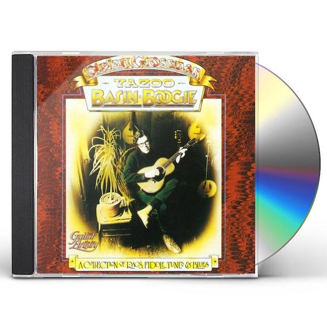 Stefan Grossman YAZOO BASIN BOOGIE CD
