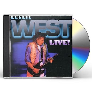 Leslie West LIVE CD