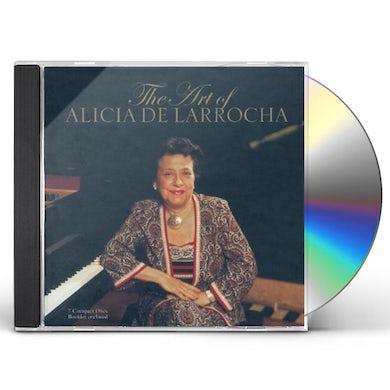 ART OF ALICIA DE LARROCHA CD