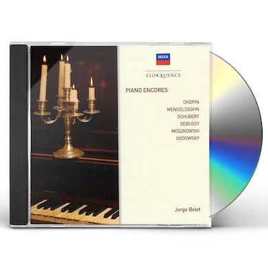 Jorge Bolet ELOQ: PIANO ENCORES CD