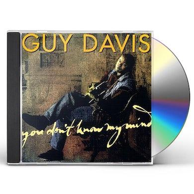Guy Davis YOU DON'T KNOW MY MIND CD