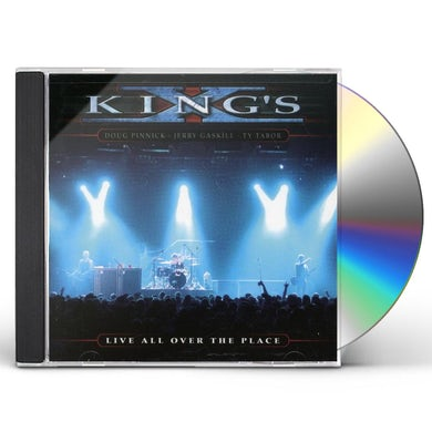 King's X LIVE ALL OVER THE PLACE CD