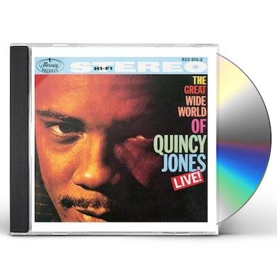 Quincy Jones GREAT WIDE WORLD LIVE CD
