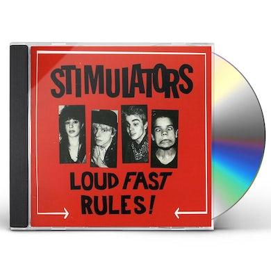 Stimulators LOUD FAST RULES CD