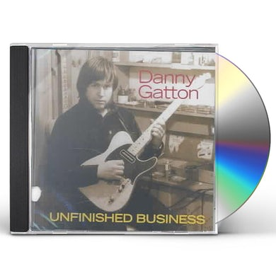 Danny Gatton UNFINISHED BUSINESS CD