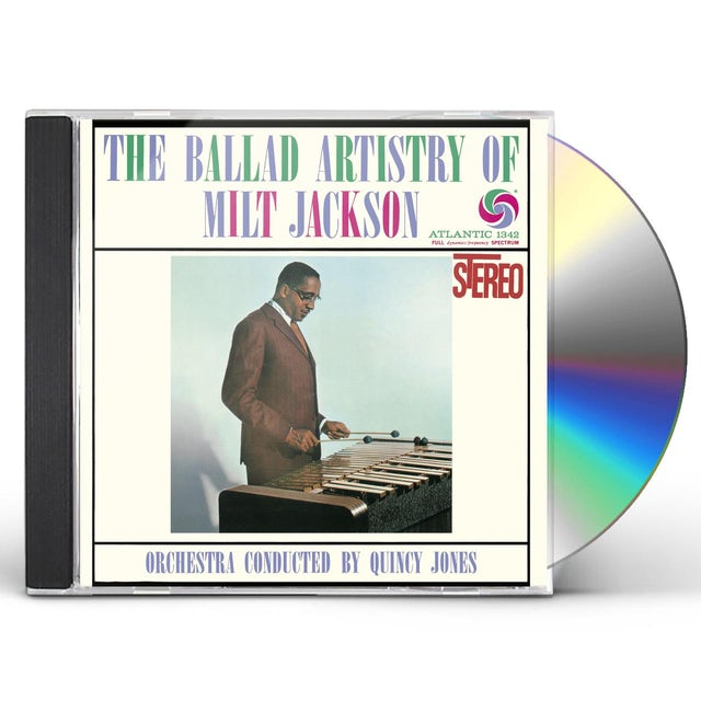 BALLAD ARTISTRY OF MILT JACKSON CD