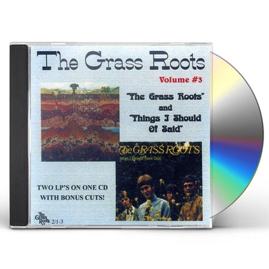 GRASS ROOTS / THING I SHOULD O CD