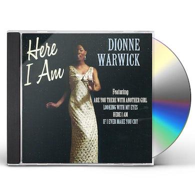 Dionne Warwick HERE I AM CD