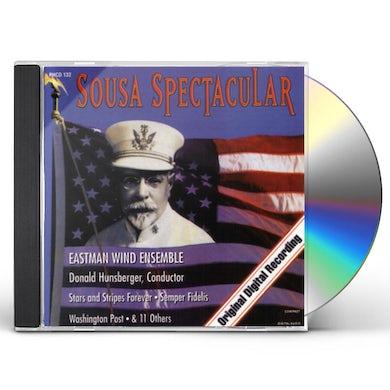Eastman Wind Ensemble SOUSA SPECTACULAR: STARS & STRIPES FOREVER SEMPER CD