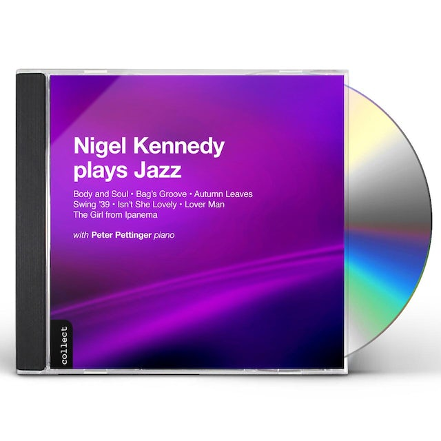 Nigel Kennedy PLAYS JAZZ CD