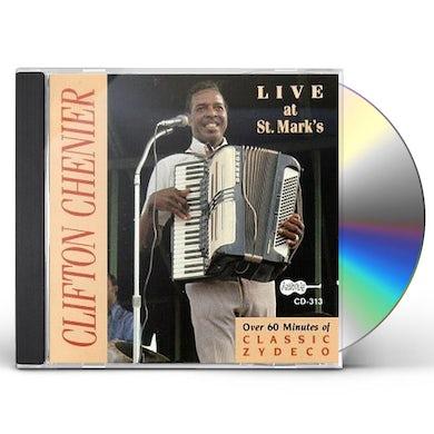 Clifton Chenier LIVE AT ST MARK'S CD