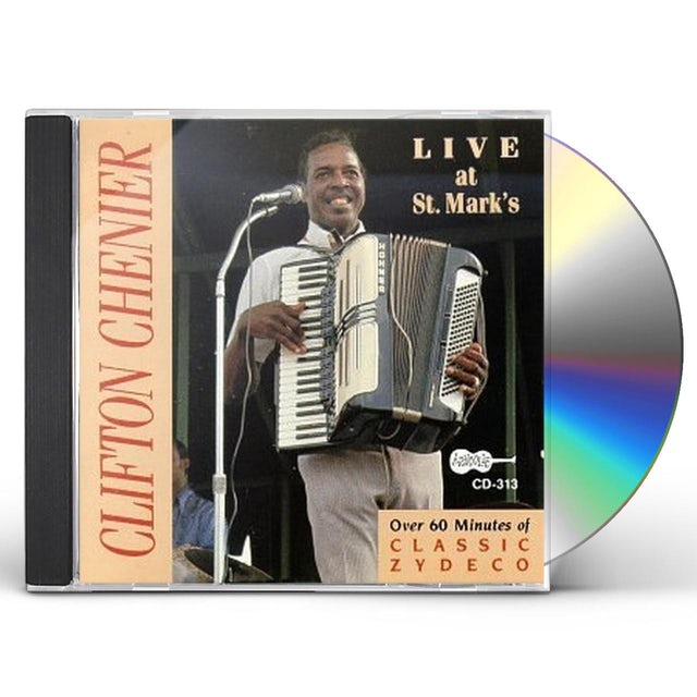 Clifton Chenier LIVE AT ST MARK'S CD