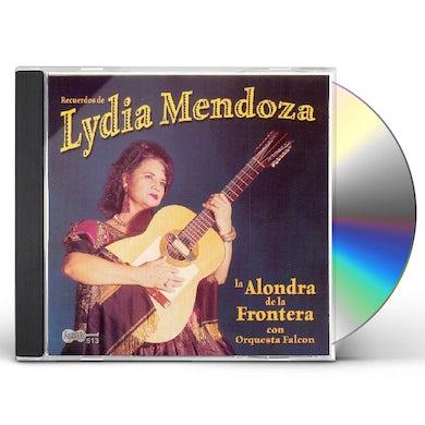 Lydia Mendoza ALONDRA DE LA FRONTERA CON ORQUESTA FALCON CD