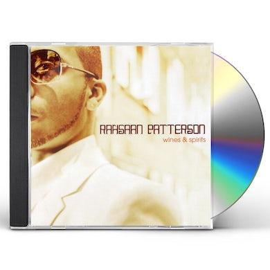 Rahsaan Patterson WINES & SPIRITS CD
