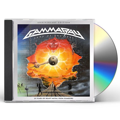 Gamma Ray LAND OF THE FREE CD