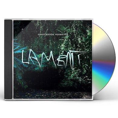 Einstürzende Neubauten LAMENT CD