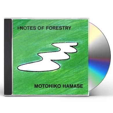 Motohiko Hamase NOTES OF FORESTRY CD