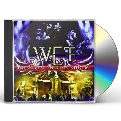 W.E.T. ONE LIVE IN STOCKHOLM CD