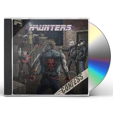 Confess HAUNTERS CD