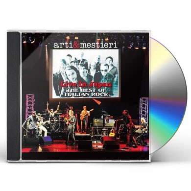 ARTI & MESTIERI LIVE IN JAPAN: BEST OF ITALIAN ROCK CD