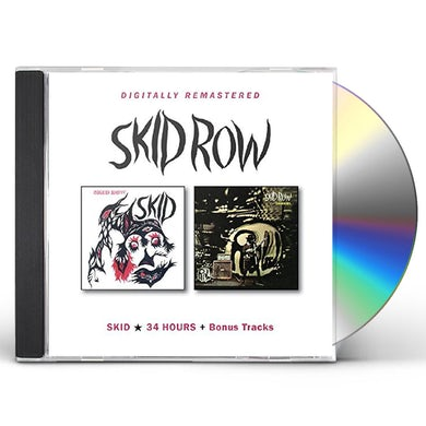 Skid Row SKID / 34 HOURS CD