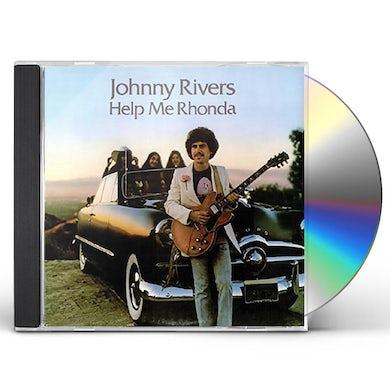 Johnny Rivers HELP ME RHONDA CD